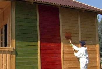 Как красить свой дом