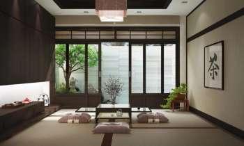 Дизайн помещения в японском стиле