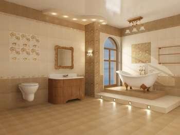Керамическая плитка в ванной