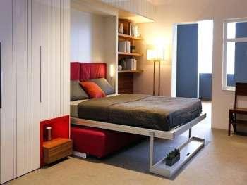 Мебель-трансформер для гостиной-спальни