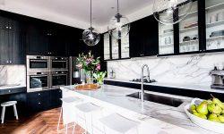 Мрамор на кухне