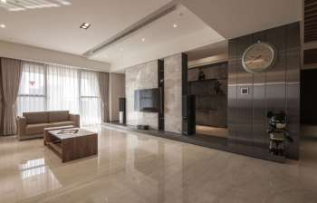Мрамор в интерьере квартиры