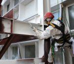Обработка металлоконструкций огнезащитной краской