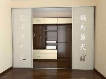 Организация гардеробной в шкафу-купе