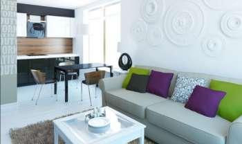 Перепланировка в хрущевке - гостиная из кухни и зала