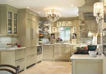 Шебби-шик на кухне