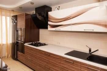 Шпонированая кухонная мебель