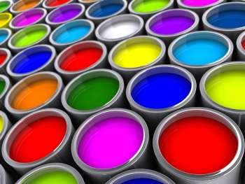 Цветовая гамма строительных красок