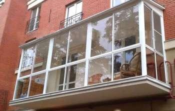 нюансы балконного остекления